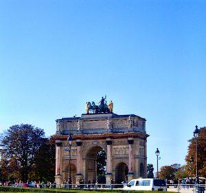 Arco del Triunfo del Carrusel de París