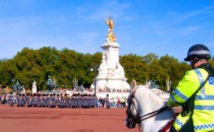 Cambio de guardia Palacio Buckingham Londres