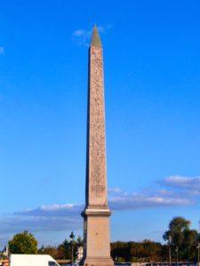Obelisco Plaza de la Concordia París