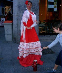 Flamenco en Plaza Mayor de Madrid