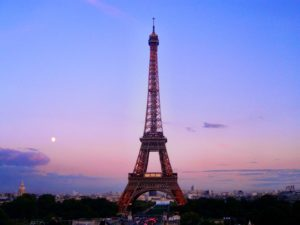 Torre Eiffel vista desde Chaillot París