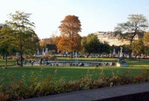 Jardín de las Tullerías París