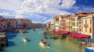 Gran canal Venecia Italia atracción más visitada del mundo 2018