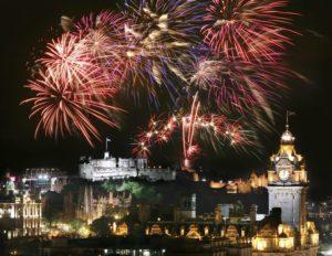 El Hogmanay Edimburgo Año Nuevo