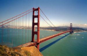 Golden Gate Bridge San francisco atracción más visitada del mundo 2018