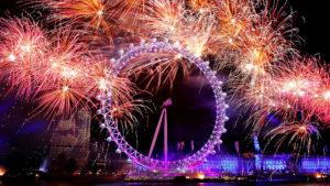 London Eye Londres Año Nuevo