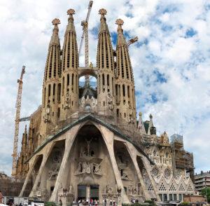 Sagrada Familia Barcelona España atracción más visitada del mundo 2018