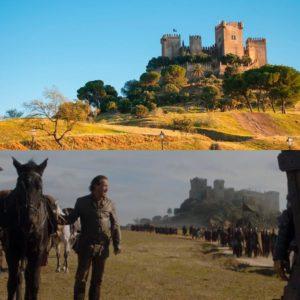 Castillo de Almodóvar del Río escenario de Juego de Tronos en España