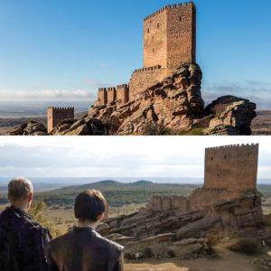 Castillo de Zafra escenario de Juego de Tronos en España