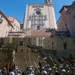 Catedral de Girona escenario de Juego de Tronos en España