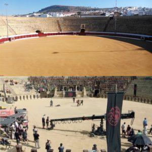Plaza de Toro de Osuna escenario de Juego de Tronos en España