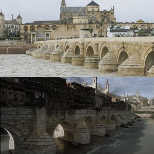 Puente Romano de Córdoba escenario de Juego de Tronos en España