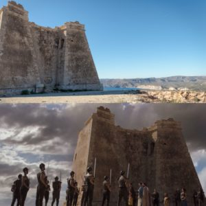 Torre de Mesa Roldán escenario de Juego de Tronos en España