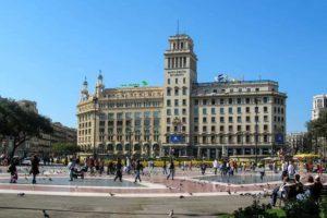 Plaza Cataluña, 12 Sitios para visitar en Barcelona en 4 días