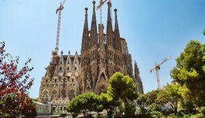 Sagrada Familia, 12 Sitios para visitar en Barcelona en 4 días