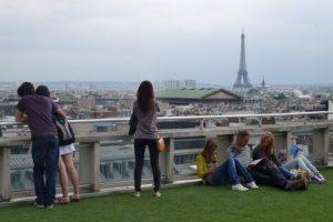 11 Cosas que hacer en París Gratis: Vista desde Galerías Lafayette
